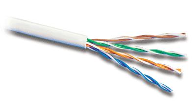 Kabel typu skrętka - z czterema odnogami.